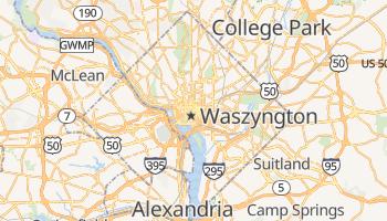 Waszyngton - szczegółowa mapa Google