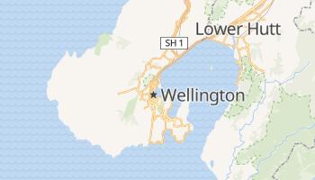 Wellington - szczegółowa mapa Google
