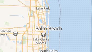 West Palm Beach - szczegółowa mapa Google