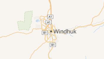 Windhuk - szczegółowa mapa Google