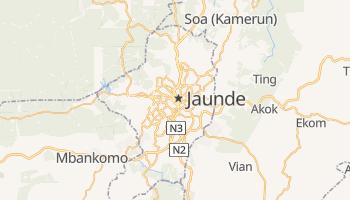 Jaunde - szczegółowa mapa Google