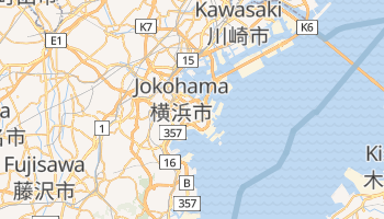 Jokohama - szczegółowa mapa Google