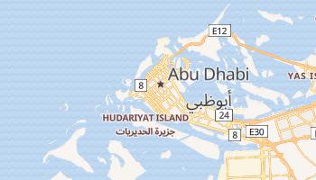 Mapa online de Abu Dhabi para viajantes