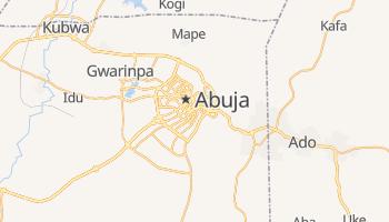 Mapa online de Abuja para viajantes