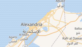 Mapa online de Alexandria para viajantes