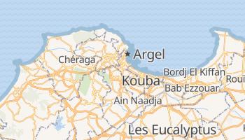 Mapa online de Argel para viajantes