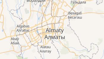 Mapa online de Almaty para viajantes