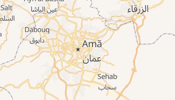 Mapa online de Amã para viajantes