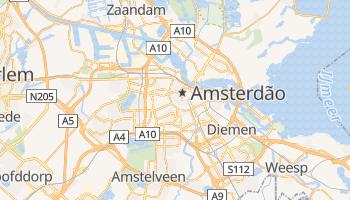 Mapa online de Amsterdão para viajantes