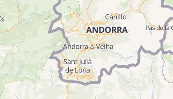 Mapa online de La Vella de Andorra para viajantes