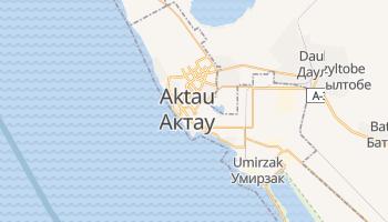 Mapa online de Aktau para viajantes