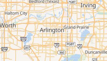 Mapa online de Arlington para viajantes