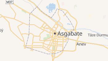 Mapa online de Aşgabat para viajantes