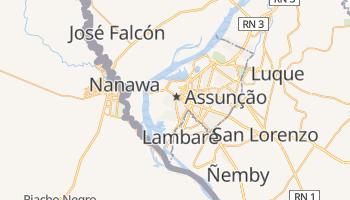 Mapa online de Assunção para viajantes