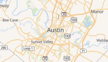 Mapa online de Austin para viajantes