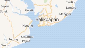 Mapa online de Balikpapan para viajantes