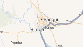 Mapa online de Bangui para viajantes