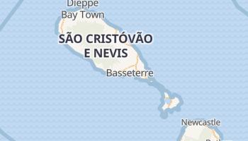 Mapa online de Basseterre para viajantes