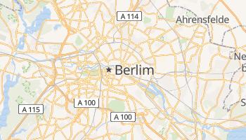 Mapa online de Berlim para viajantes