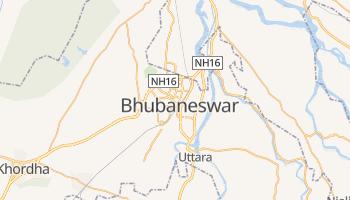 Mapa online de Bhubaneswar para viajantes