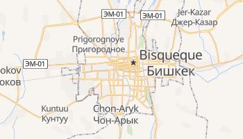 Mapa online de Bishkek para viajantes