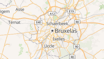 Mapa online de Bruxelas para viajantes
