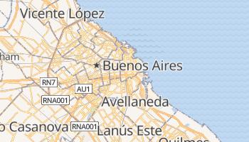 Mapa online de Buenos Aires para viajantes