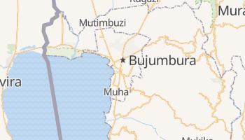 Mapa online de Bujumbura para viajantes