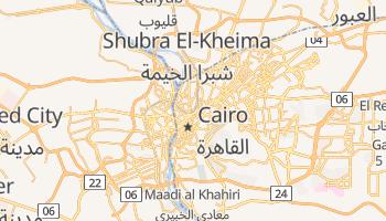 Mapa online de Cairo para viajantes