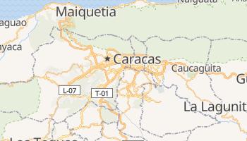 Mapa online de Caracas para viajantes