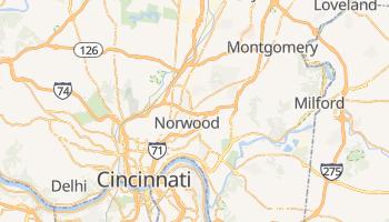Mapa online de Cincinnati para viajantes