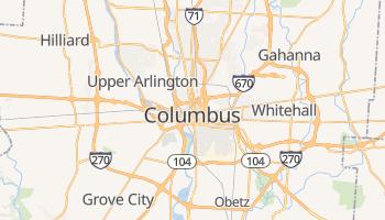 Mapa online de Columbus para viajantes