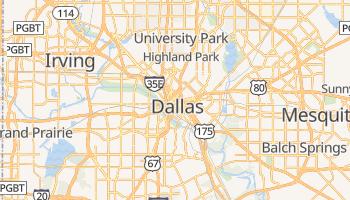 Mapa online de Dallas para viajantes
