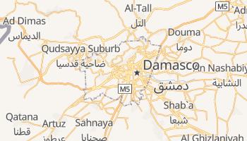 Mapa online de Damasco para viajantes