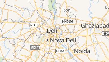 Mapa online de Deli para viajantes