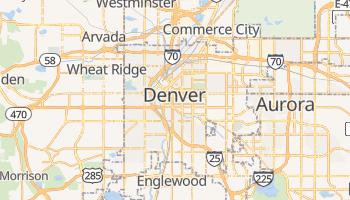 Mapa online de Denver para viajantes