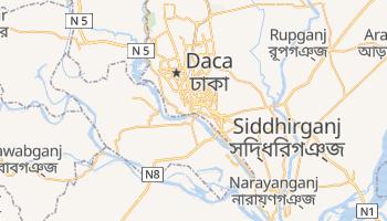 Mapa online de Dacca para viajantes