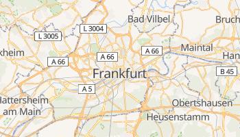 Mapa online de Frankfurt am Main para viajantes