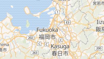 Mapa online de Fukuoka para viajantes