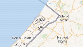 Mapa online de Gaza para viajantes