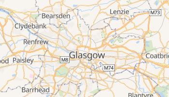 Mapa online de Glasgow para viajantes