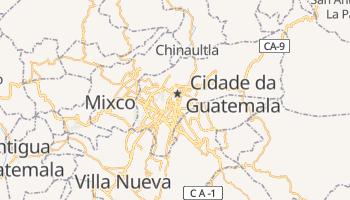 Mapa online de Guatemala para viajantes