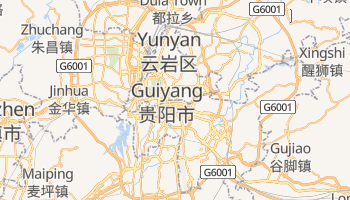 Mapa online de Guiyang para viajantes