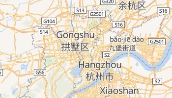 Mapa online de Hangzhou para viajantes
