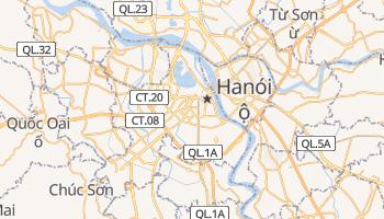 Mapa online de Hanói para viajantes