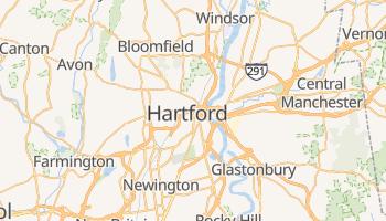Mapa online de Hartford para viajantes