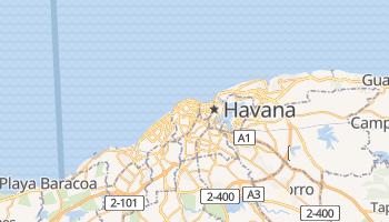 Mapa online de Havana para viajantes