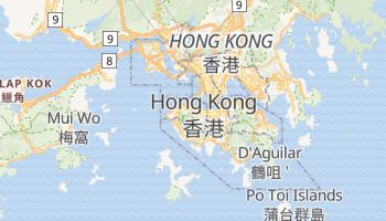 Mapa online de Hong Kong para viajantes
