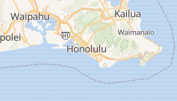 Mapa online de Honolulu para viajantes