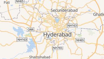 Mapa online de Hyderabad para viajantes